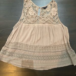 American Eagle Baby doll top
